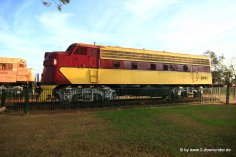 Alter Zug in Port Hedland (1)