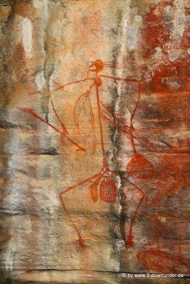 Ubirr Rock Felsmalerein im Kakadu NP (3)
