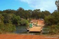 Jardine River Fähre nach Cape York