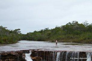 Kati bei den Fruit Bat Falls