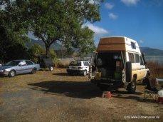 Schlafplatz am 11.07.2013 30km nördlich von Cairns