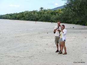 Kati und Falk am Cape Tribulation