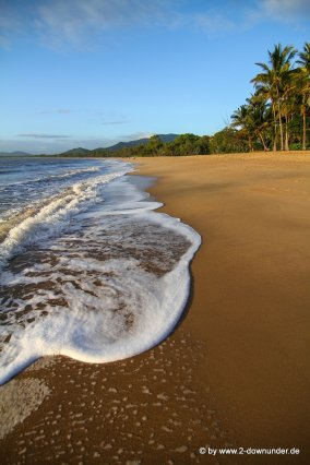 Strand am Morgen in Palm Cove