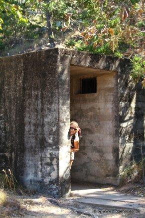 Kati der Spion an den Forts auf Magnetic Island