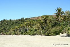 Strand im Cape Hilsborough NP
